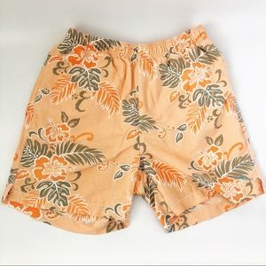 Tommy Bahama Tropical Print Swim Trunks